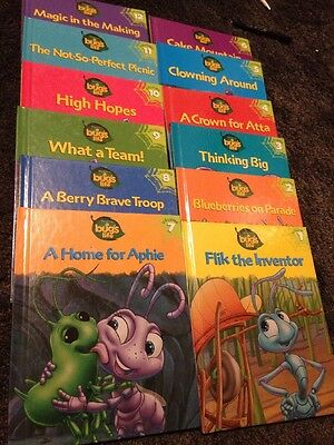 A Bugs Life Book Set 12 Volumes