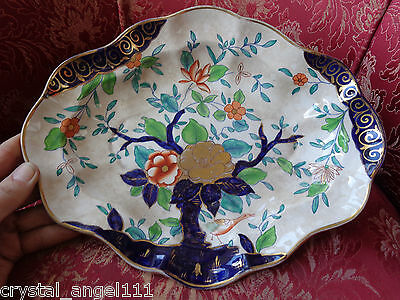 ANTIQUE 1810 c  SPODE / WORCESTER IMARI  CHINOISERIE  SERVING PLATE BOWL