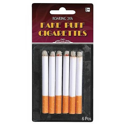 Fake Cigarettes Adult Roaring 20s Flapper 50s Greaser Halloween Costume Prop