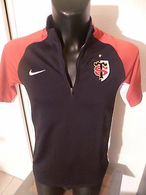 superbe haut rugby stade toulousain taille:M dry-fit
