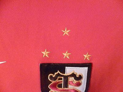 superbe et rare maillot rugby stade toulousain taille:XXL introuvable 4 etoiles