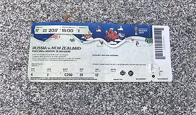 Sammler Used Ticket #1 Russia New Zealand Russland Neuseeland Confed Cup 2017
