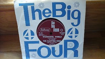 Embassy Rare Ep The Big Four 7 Inch Single  The Starlings  1965  Ex Example