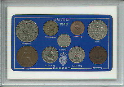 1948 Vintage Coin Set 69th Birthday Birth Year Present Wedding Anniversary Gift