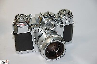 Zeiss Ikon Contarex Bullseye with Carl Zeiss Planar 50mm f2 (Bag)