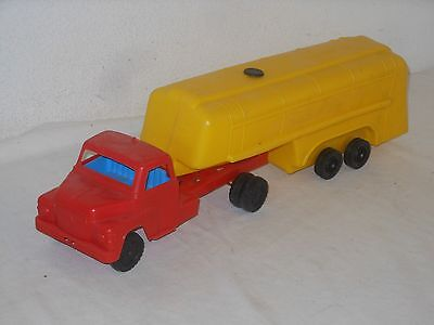 MAN DIESEL TANKZUG 60 cm - VINTAGE TOY - von PROGRESS NÜRNBERG WEST GERMANY - 8