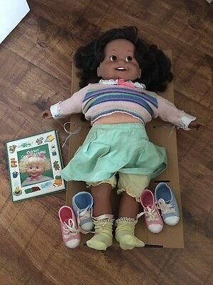 Vintage 1986 Playmates Cricket African American Talking Doll. Free Shipping