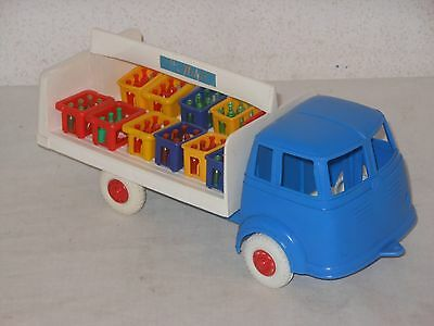 MERCEDES BENZ MILCH LKW -  27 cm - VINTAGE TOY - WEST GERMANY - 10