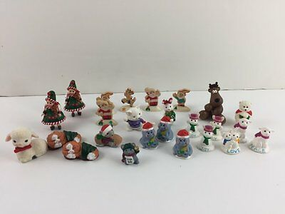 Hallmark Keepsake 25 Merry Miniatures Christmas Mixed Lot