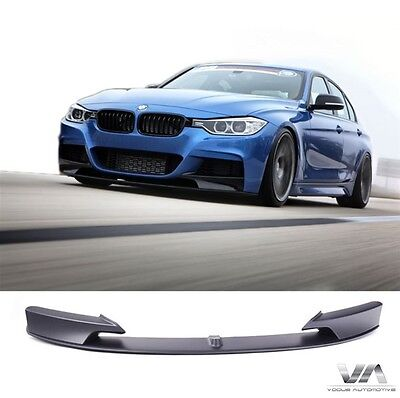 bmw 3 series f30 f31 m performance front lip spoiler. Black Bedroom Furniture Sets. Home Design Ideas
