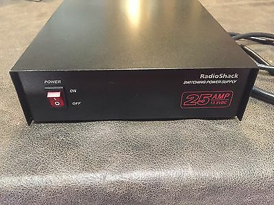 Radio Shack 13.8VDC 25A, 13.8 Volts DC 25 Amp Switching Power Supply 22-510 12V