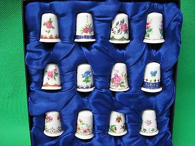 thimbles collection 12 boxed