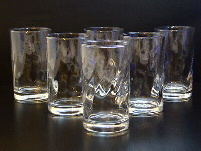 Charming Ripple Hi Ball Glass - Set Of Six