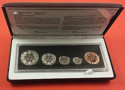 1998 Canada Proof Silver Coin Set ( 1908 - 1998 Mints 90th ) #18371 / 25000