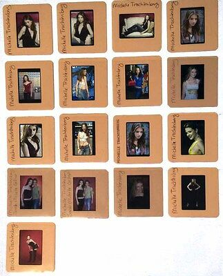 MICHELLE TRACHTENBERG set of 20  35mm promo Transparency Photo COLOR SLIDES
