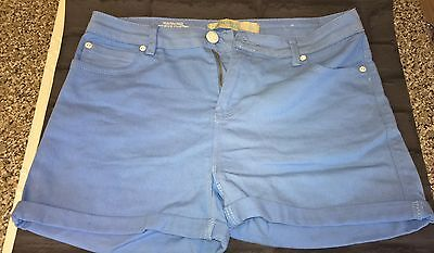 womens denim shorts size 12