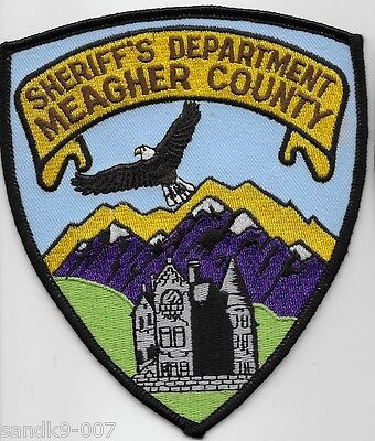 NEW Meagher County Sheriff State of MONTANA MT Shoulder Patch