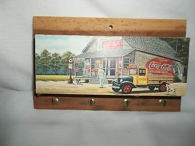1995 Coca-Cola Wall hanging hooks storage Pamela Renfroe Picture