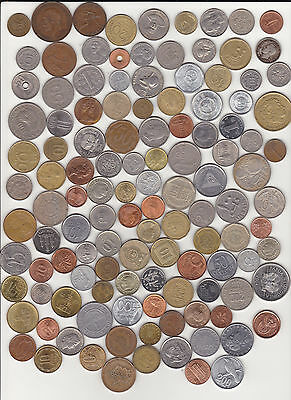 Lot of 115+ Different World Coins
