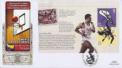 Gb Stamps First Day Cover 2012 Olympics Mini Sheet London Benham Royal Mail