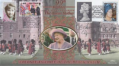 Gb Stamps First Day Cover 1999 Queen Mother Birthday Guernsey Benham Royal Mail