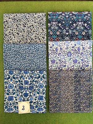 Box of six beautiful Liberty Tana Lawn Hankies for women (our box 2)