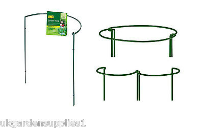 Pack of 2 x 60cm x 45cm Garden Hoops - Plant Support - Garden Plant Supports