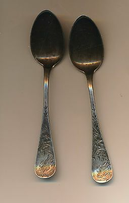 Vintage Sterling Silver Spoons - Lot Of Three  - #s32