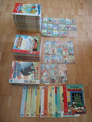 Carl Barks Library complete Set alle 119 Alben, + Trading Cards  US Gladstone