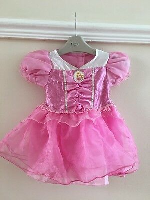 BABY GIRLS Age 9-12 Months FANCY DRESS DISNEY PRINCESS SLEEPING BEAUTY OUTFIT