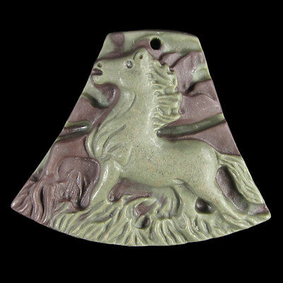 Carved Horse Bead DC500049
