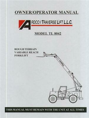 traverse forklift tl8040 parts manual 65 00 picclick rh picclick com Traverse 6035 Parts Traverse Tl8042 Lift