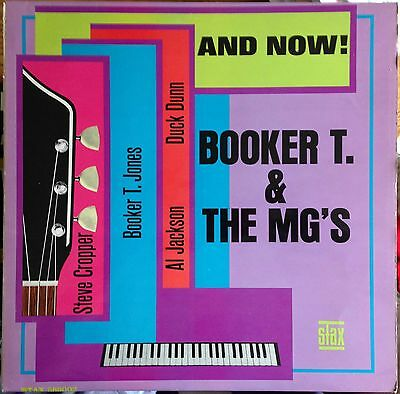 Booker T. & The MG's And Now UK 1966 LP Stax (Dark Blue Label)