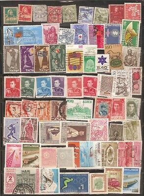 a stock page of mixed used world stamps starting with Switzerland.