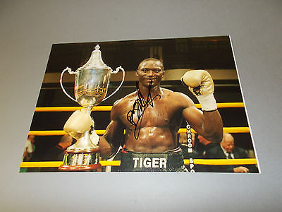 Patrick Mendy  Boxer boxing signed signiert Autogramm auf 20x28 Foto in person