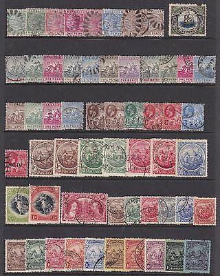 Barbados Qv-Qeii  Used Collection 118 Stamps
