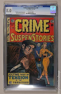Crime Suspenstories (1950-55 E.C. Comics) #25 CGC 8.0 0261815004