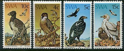 SOUTH WEST AFRICA 373 - 376 Beautiful Mint Never Hinged  Set BIRDS UPTOWN 27781