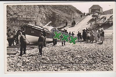 Coates Photo Postcard - Launching Of The Flamborough Lifeboat - Elizabeth Albina
