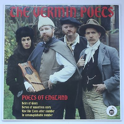 The Vermin Poets (Billy Childish) The Poets of England Vinyl LP Record