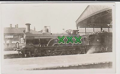 Photo ? Postcard - Train 1500 - Rugby ( Station ? ).