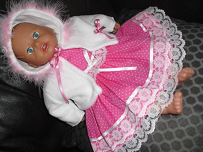 Beautiful doll's clothes fit baby Annabel/ Reborn baby dolls