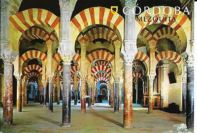 Cordoba - Mezquita Cathedral - Labyrinth of Columns  --Posted  Postcard