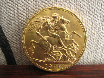 George V Gold Sovereign SA 1925 George and Dragon