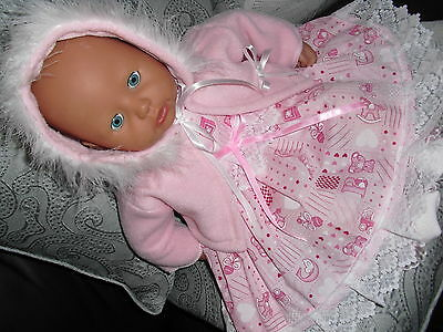 """Beautiful doll's clothes fit baby Annabel/ Reborn/tiny treasures or 17""""-19""""dolls"""