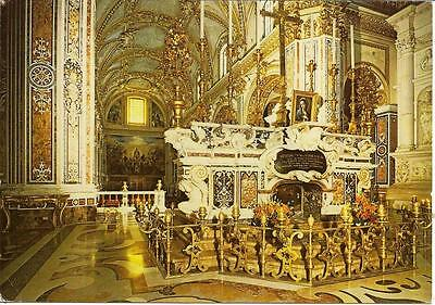 Montecassino Abbey - Tomb of St.Benedict & St.Scholastica -Italy Posted Postcard