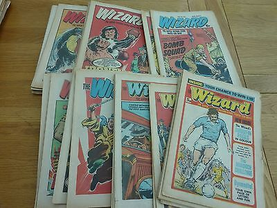 The Wizard Comic X 46 Issues 1976 - 1978