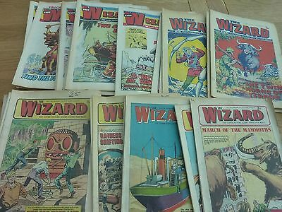 The Wizard Comic X 35 Issues 1972 - 1975