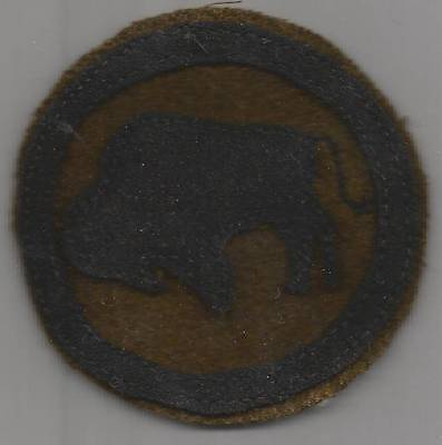WW 1 US Army 92nd Division Patch Inv# 1254