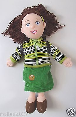 "Large 15"" Talking Miss Hoodie Soft Toy Cbeebies Balamory with backpack"